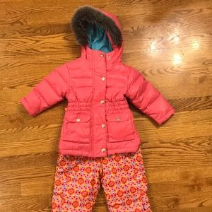 Hanna Andersson Jackets & Coats - Hanna Anderson Toddler winter coat and snow pants